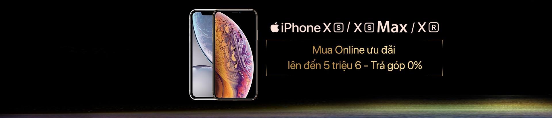 Khuyến mãi lớn khi mua iPhone XS/ XS Max/ XR