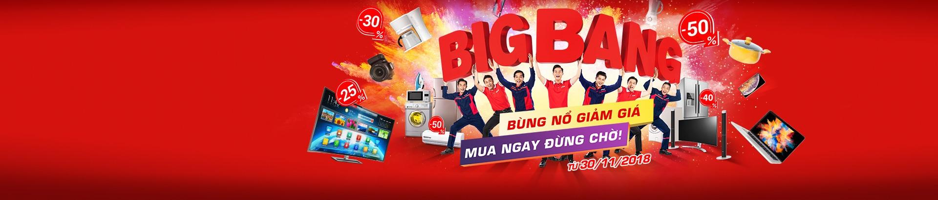 Bigbang:  Bùng nổ giảm giá - Mua ngay đừng chờ