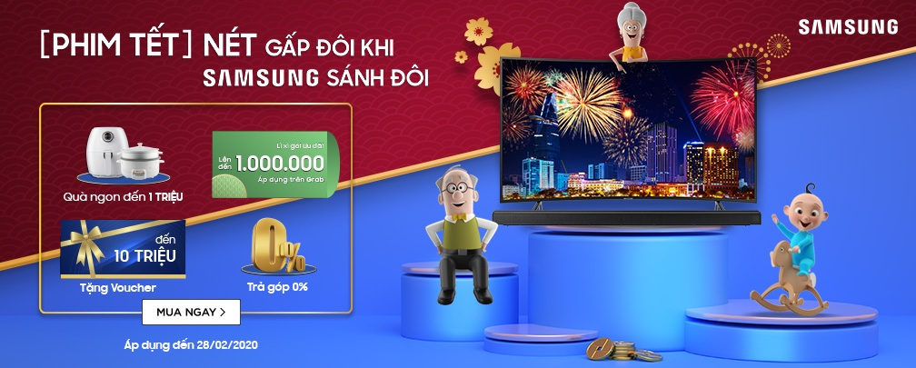 Mua Tivi Samsung - Khuyến mãi cực sốc