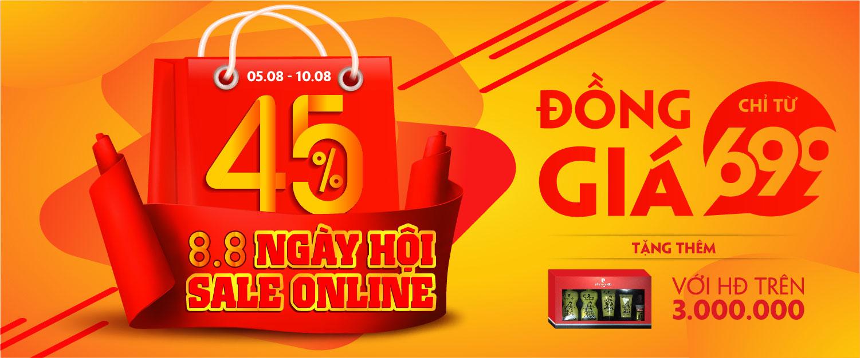 Ngày hội Sale Online 08/08
