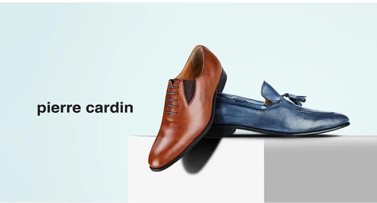 Pierre cardin: Ưu đãi giảm 40% với sản phẩm giày