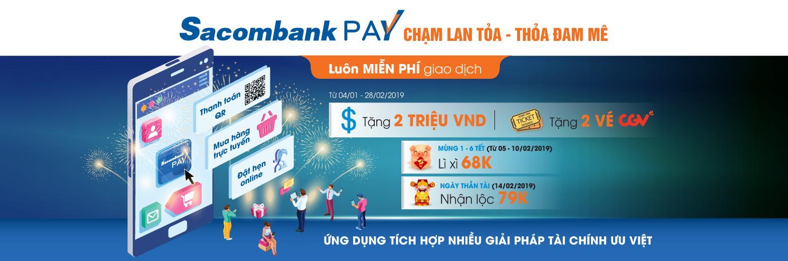 Sacombank: Chạm lan tỏa - Thỏa đam mê