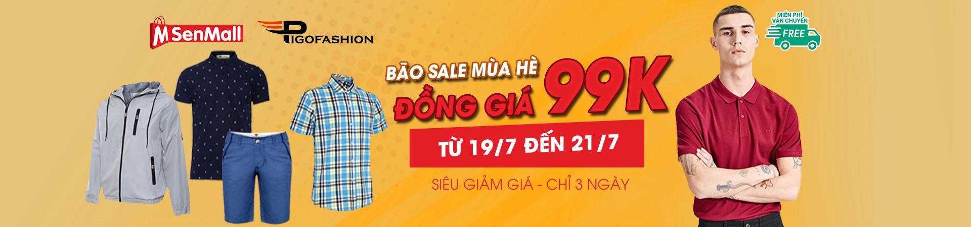 Bão sale mùa hè - Đồng giá 99k