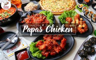 Ưu đãi 10% Papas Chicken