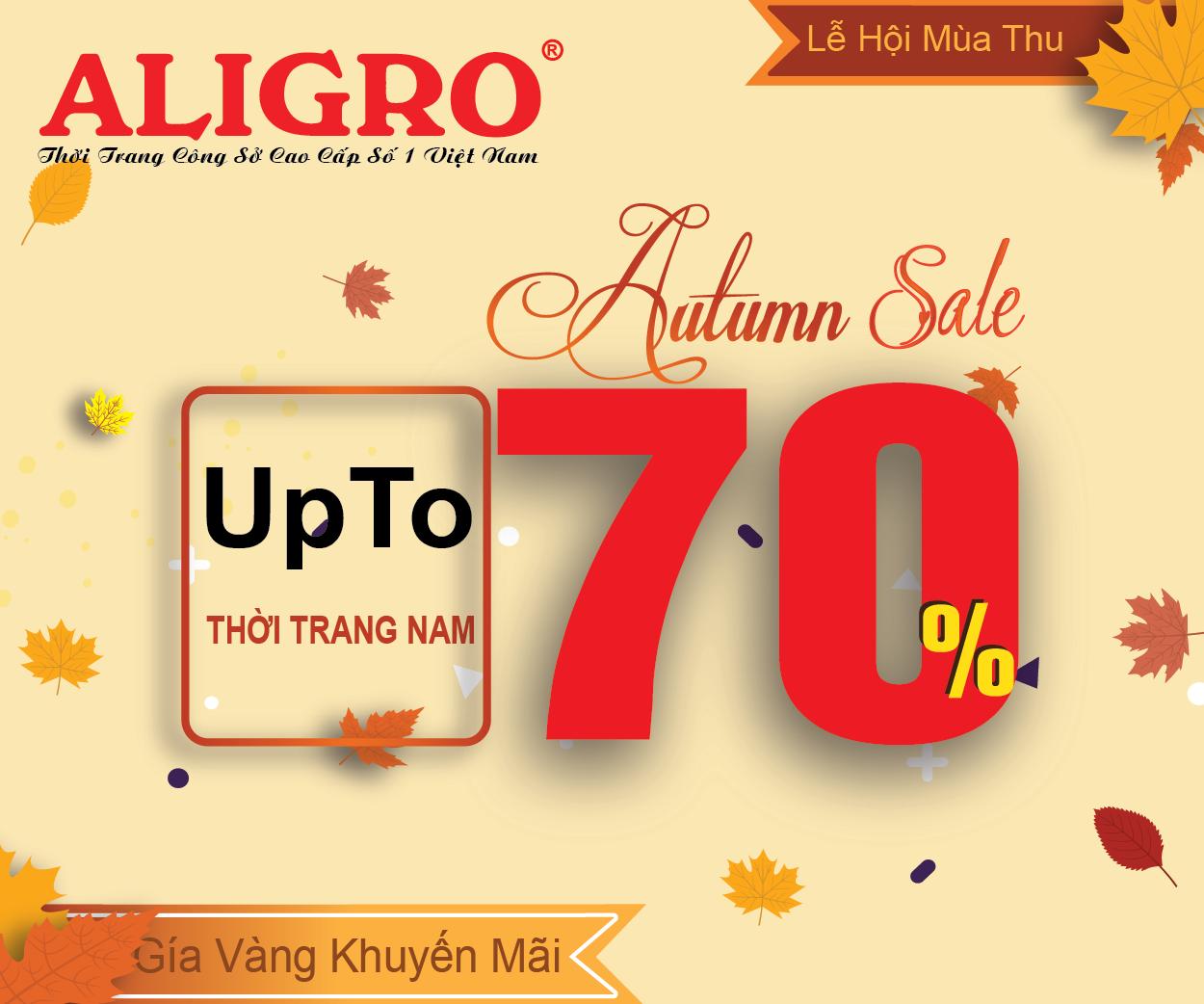 Săn đồ hiệu chính hãng Aligro - Sale up to 70%