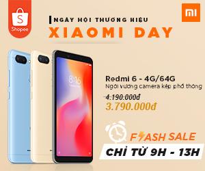 Ngày hội thương hiệu Xiaomi Day - Khuyến mãi cực sốc