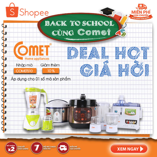 Comet chính hãng - Deal hot giá hời