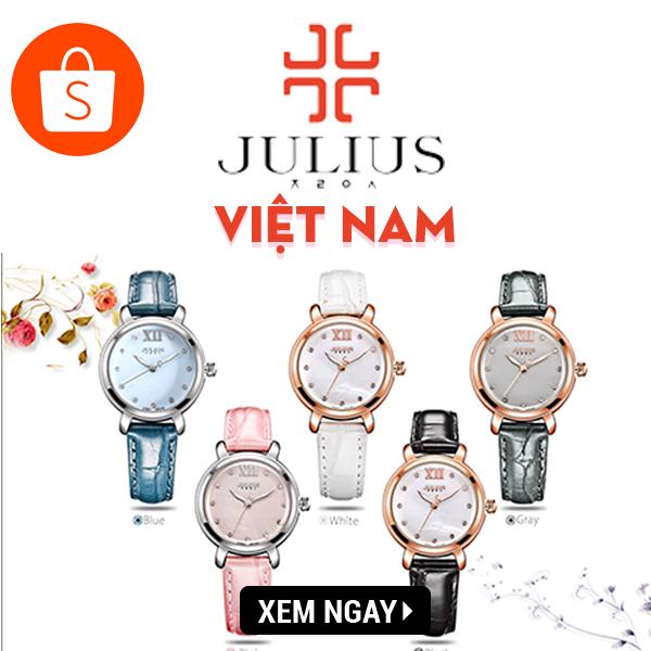 Đồng hồ chính hãng Julius - Giảm đến 30%