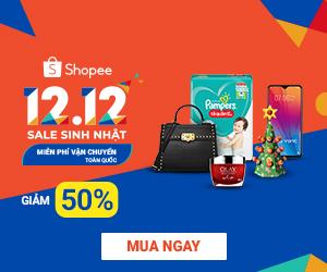Khuyến mãi 12.12 Birthday Sale – Sale Sinh Nhật
