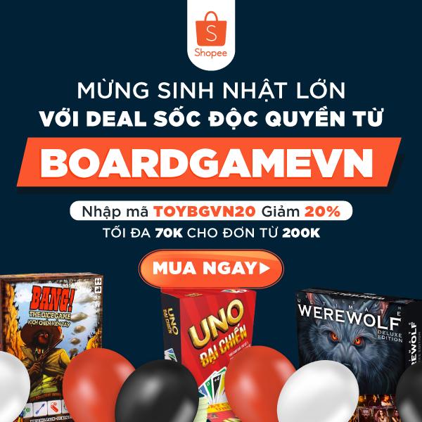 Board game giá cực shock - Deal độc quyền
