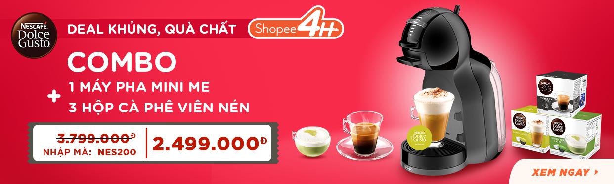 Nestle Capsule: Máy pha cà phê giá siêu sốc
