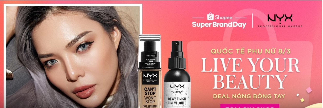 NYX Supper Brand Day