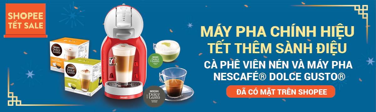 Nestle (Capsule) - Máy pha chính hiệu, Tết thêm sành điệu giảm giá tại shopee