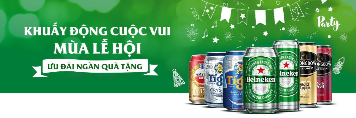 Heineken: Ưu đãi ngàn quà tặng