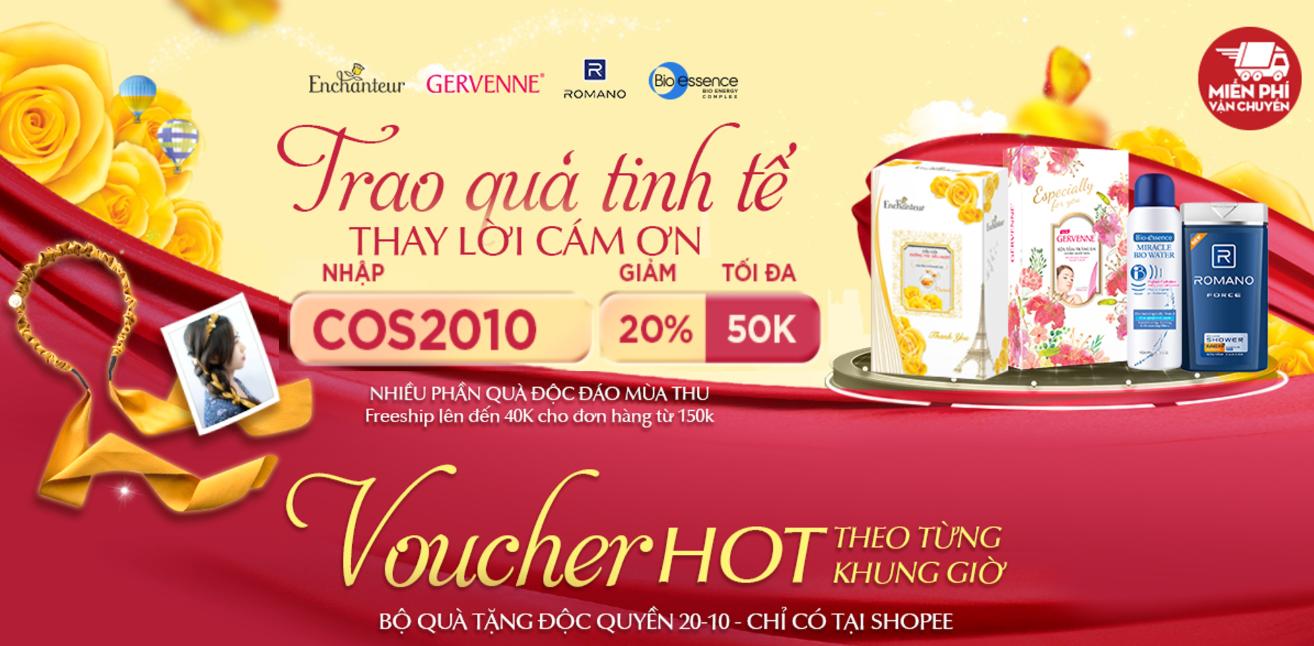 Voucher hot theo khung giờ - Các thương hiệu nổi tiếng khuyến mãi