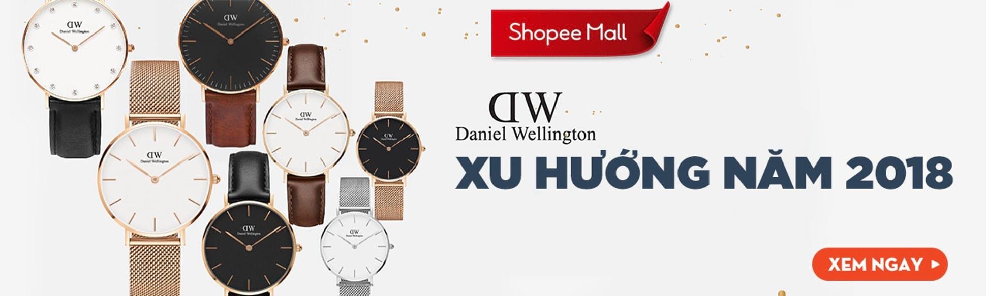 Đồng hồ chính hãng Daniel Wellington - Giá chỉ từ 1tr999 - Xu hướng 2018