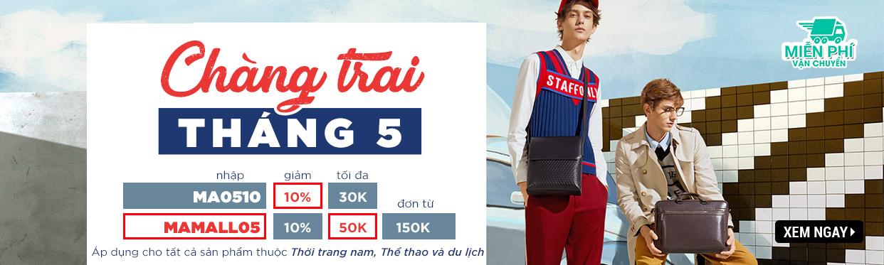 Chàng Trai Tháng 05 - Top Sản Phẩm Bán Chạy Thời Trang Nam