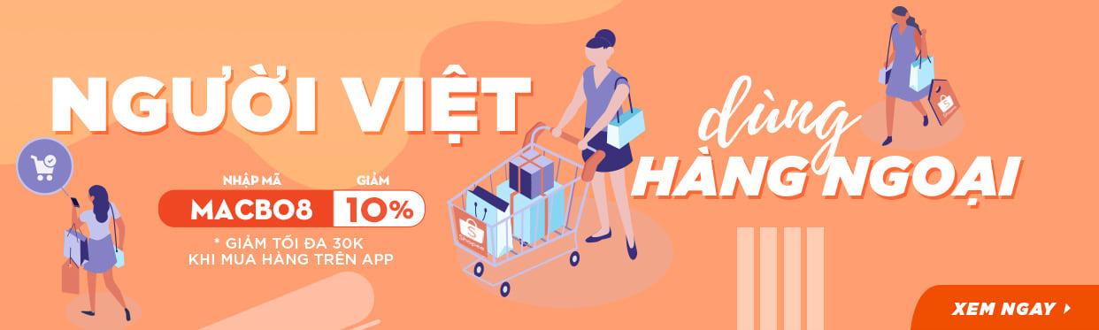 Người Việt dùng hàng Ngoại