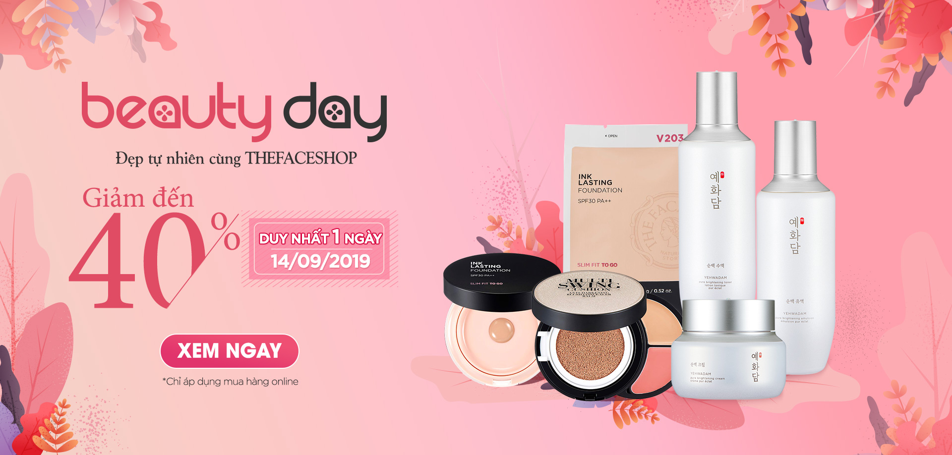 THE FACESHOP - BEAUTY DAY 14.09.2019