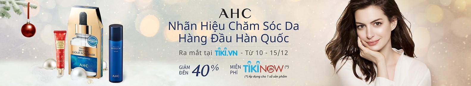 AHC - Nhãn hiệu chăm sóc da hàng đầu Hàn QUốc ưu đãi đến 40%