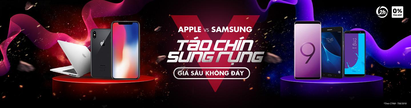 Apple, Samsung - Táo chín sung rụng - Giá sâu không đáy