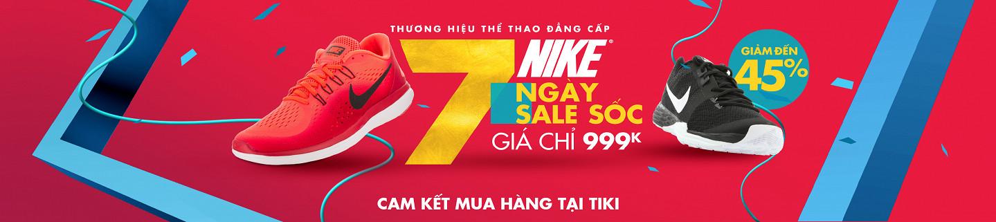 Hình ảnh Nike - 7 ngày sale sốc, giá chỉ từ 999K