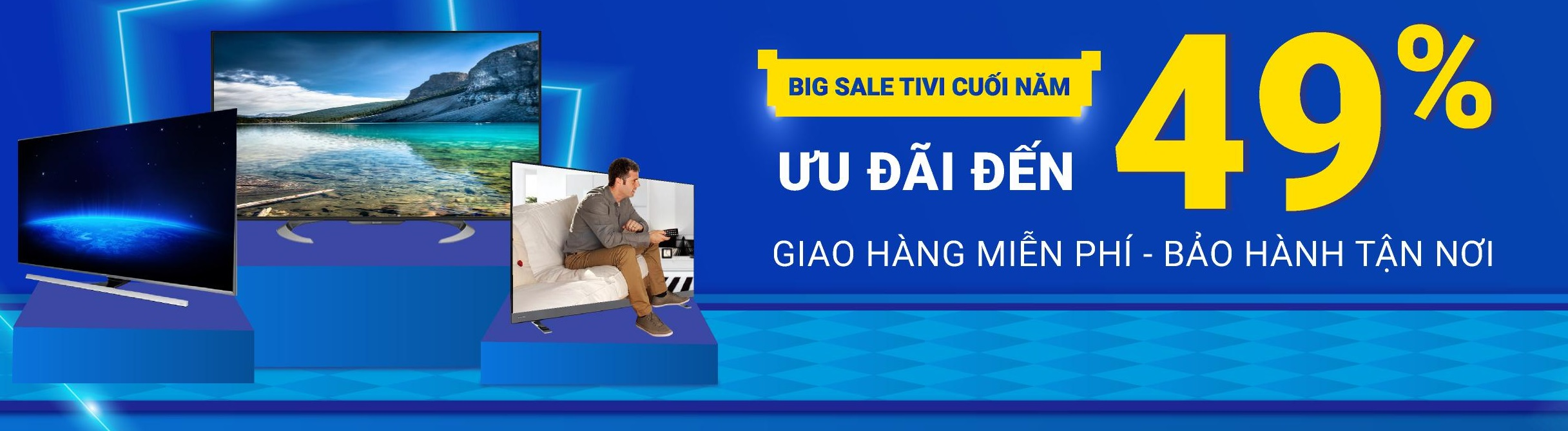 Tivi BigSale cuối năm tại Tiki - Ưu đãi đến 49%