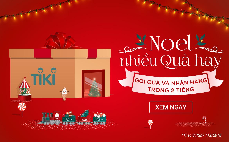 Noel nhiều quà hay - Gói quà và nhận hàng trong 2H