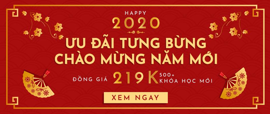 Ưu đãi tưng bừng - Chào mừng năm mới