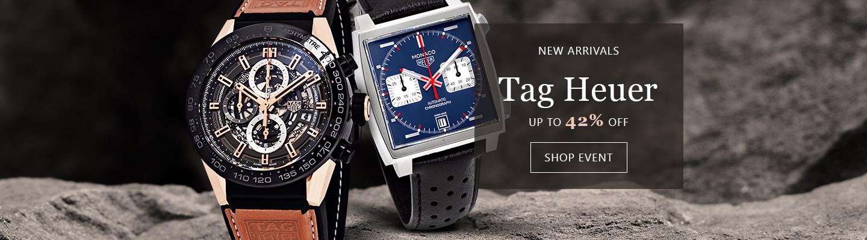 Tag Heuer giảm tới 42% các mẫu đồng hồ mới lên kệ
