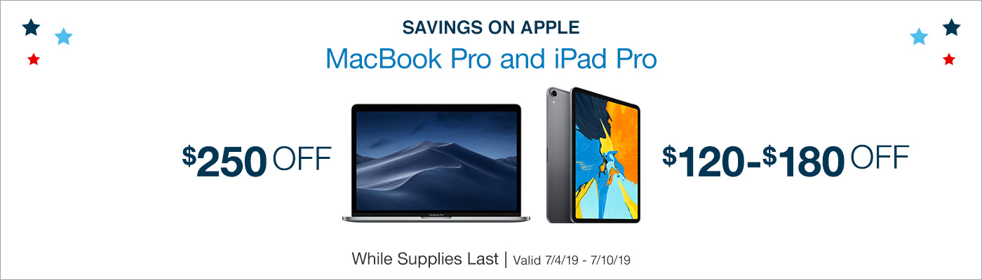 Khuyến mãi Apple Ipad Pro giảm đến $280