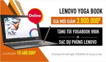 Tablet Lenovo Special Edition Yoga Book khuyến mại
