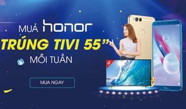 MUA HONOR TRÚNG TIVI LCD 55 INCH