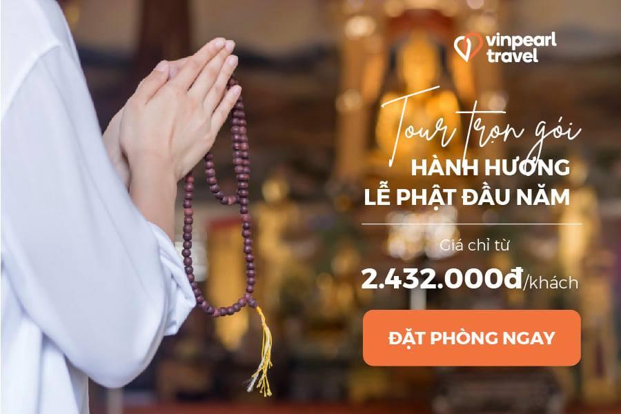 Tour trọn gói du xuân hành hương lễ Phật cầu an tại Hải Phòng - Hà Nam - Thanh Hóa - Tây Ninh Tết Nguyên đán