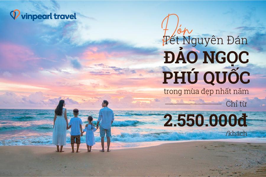 Kỳ nghỉ dưỡng biệt thự biển đẳng cấp Vinpearl dành cho Đại gia đình, kết hợp tour tham quan địa danh tại Đà Nẵng - Hội An - Nha Trang - Phú Quốc