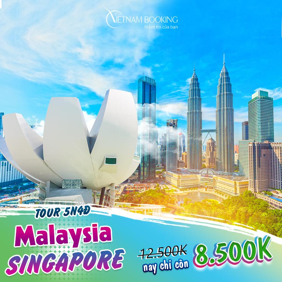 Malaysia - Singapore 5N4Đ (Tour Malaysia – Singapore 5N4Đ | Khám phá trọn vẹn 2 quốc gia) giá chỉ 9,990,000đ
