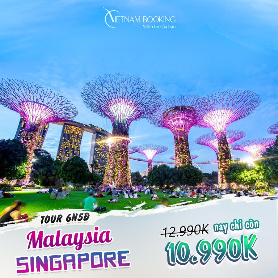 Singapore - Malaysia 6N5Đ (Tour liên tuyến 2 quốc gia Singapore – Malaysia 6N5Đ) giá chỉ 10,990,000đ