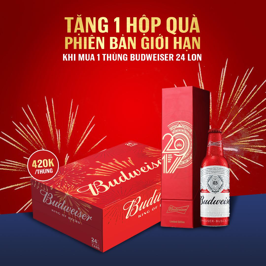 Tặng 1 hộp quà Best of Belgium (trị giá 350k/ hộp) khi mua Hoegaarden White thùng 24 chai 330ml