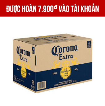Giảm 30.000VNĐ khi mua 1 Corona 24 chai 355ml