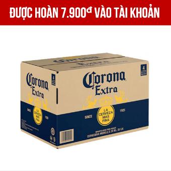 Giảm giá Corona thùng 24 chai 355ml
