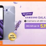 Galaxy J6 64GB_Phiên bản có giới hạn-màu tím Lavander