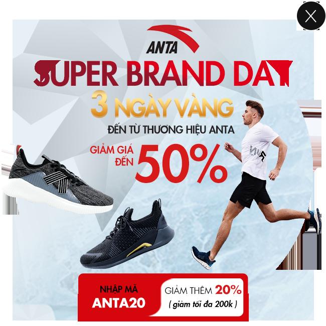 Khuyến mãi ANTA 3 ngày sale cực số giảm đến >70%