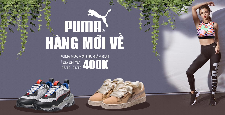 Puma - Hàng mới về - Giá từ 400k