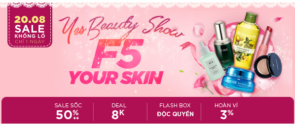 es Beauty Show - F5 your skin