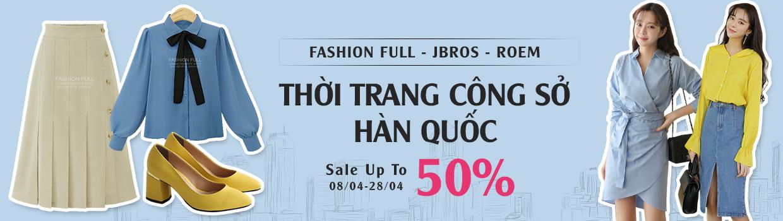 Thời trang công sở Korea giảm 50%