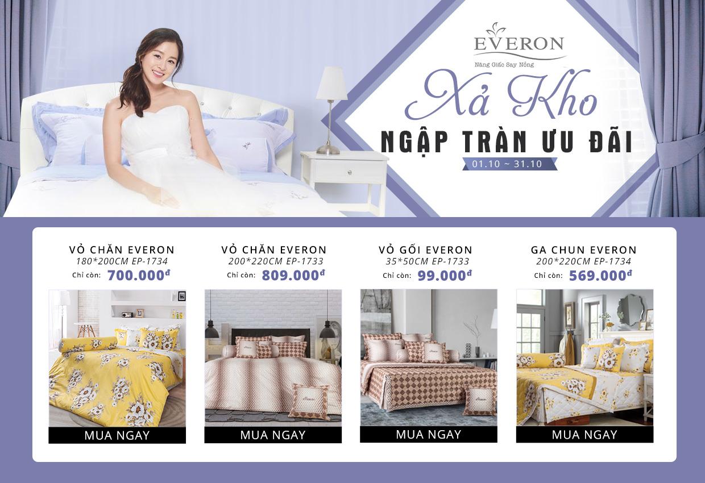 Everon xả kho - ngập tràn ưu đãi