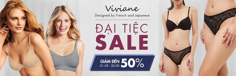 VIVIANE - Đại tiệc sale - giảm 50%