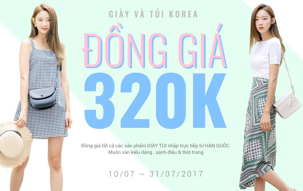 Giày túi Hàn Quốc - Đồng giá 320K