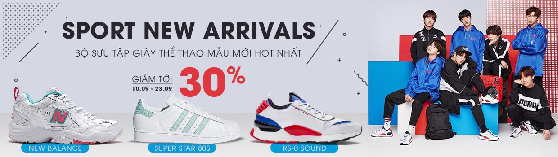 Bộ sưu tập giày thể thao Puma - Adidas khuyến mãi
