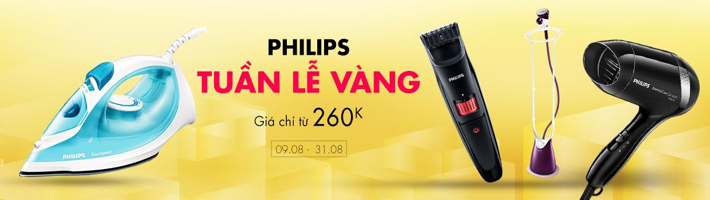 Tuần lễ vàng Philips  - Giá chỉ từ 260K